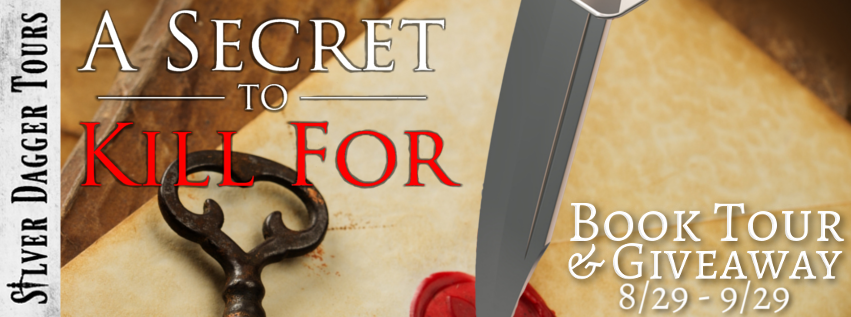 Book Tour Banner for suspense novel A Secret to Kill for from the Secrets & Lies series by T.N. Lowe   with a Book Tour Giveaway