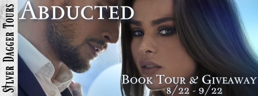 Book Tour Banner for  romantic suspense novel Abducted from the Dangerous Distractions series by Samantha Keith with a Book Tour Giveaway