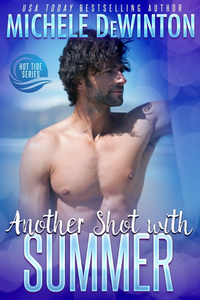 Book Cover for contemporary romantic comedy Another Shot from Summer from the Hot Tide series by Michele De Winton.