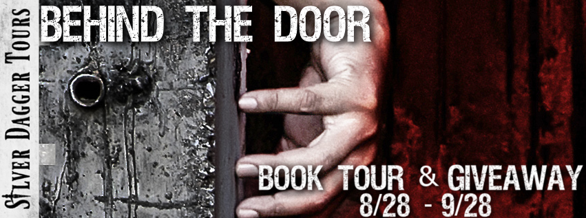 Book Tour Banner for horror novel Behind the Door from the  from the Kathy Ryan series by Mary SanGiovanni  with a Book Tour Giveaway