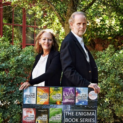 Promo Photo for authors Charles V. Breakfield and Roxanne E. Burkey.