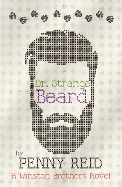 Book Cover for contemporary romance Dr. Strange Beard by Penny Reid.