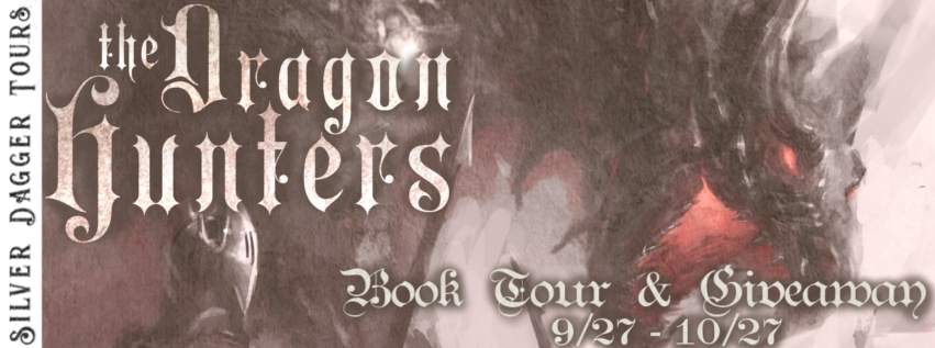 Book Tour Banner for epic fantasy The Dragon Hunters from the Histories of Malweir by the Christian Warren Freed with a Book Tour Giveaway