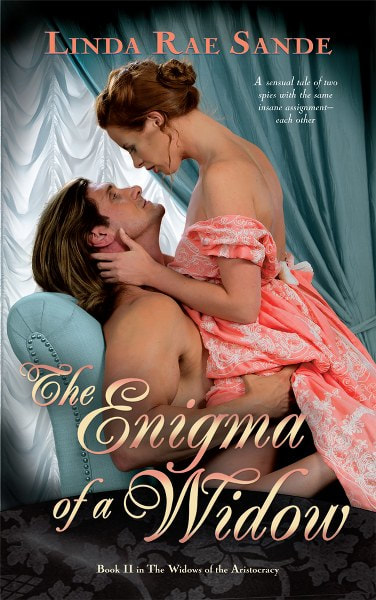 Book Cover for historical romance The Enigma of a Widow by Linda Rae Sande.
