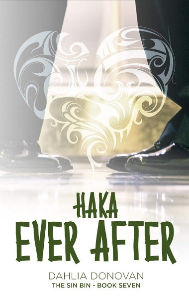 Book Cover for contemporary romance Haka Ever After by Dahlia Donovan.