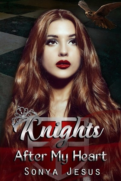 Book Cover for romantic suspense, Knights After My Heart, from the Wesbrook Knights series by Sonya Jesus.