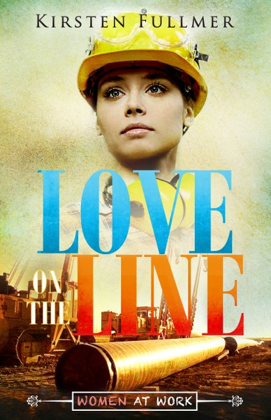 Book Cover for women's fiction / romance novel Love on the Line by Kirsten Fullmer.