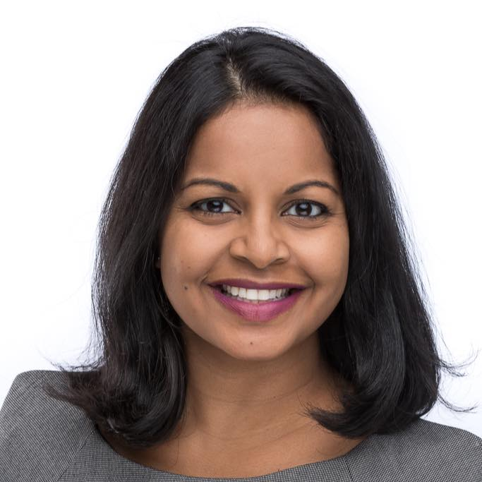 Headshot for author Mohanalakshmi Rajakumar.