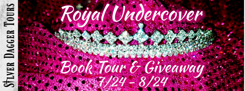 Book Tour Banner for the  romantic suspense Royal Undercover by Eileen Troemel with a Book Tour Giveaway