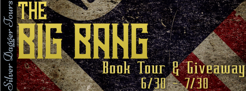 Book Tour Banner for post apocalyptic thriller The Big Bang:  The Lonesome George Chronicles Book 1 by Roy M. Griffis with a $25 Amazon Gift Card Giveaway