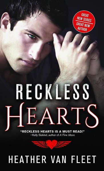 Book Cover for  contemporary romance Reckless Hearts from the Reckless Hearts series by Heather Van Fleet.