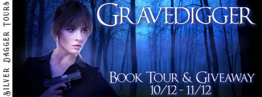 Book Tour Banner for romantic suspense Gravedigger from The Rayburn Mysteries Series by Ceeree Fields with a Book Tour Giveaway