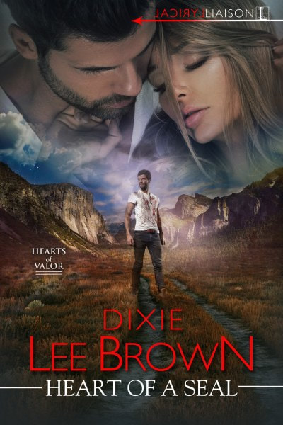 Book Cover for romantic suspense novel Heart of a Seal from the Hearts of Valor series by Dixie Lee Brown.
