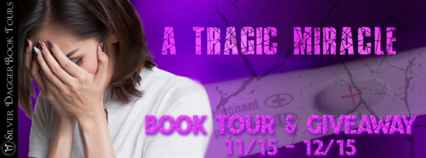 Book Tour Banner for young adult romance A Tragic Miracle by Mindy Mather with a Book Tour Giveaway