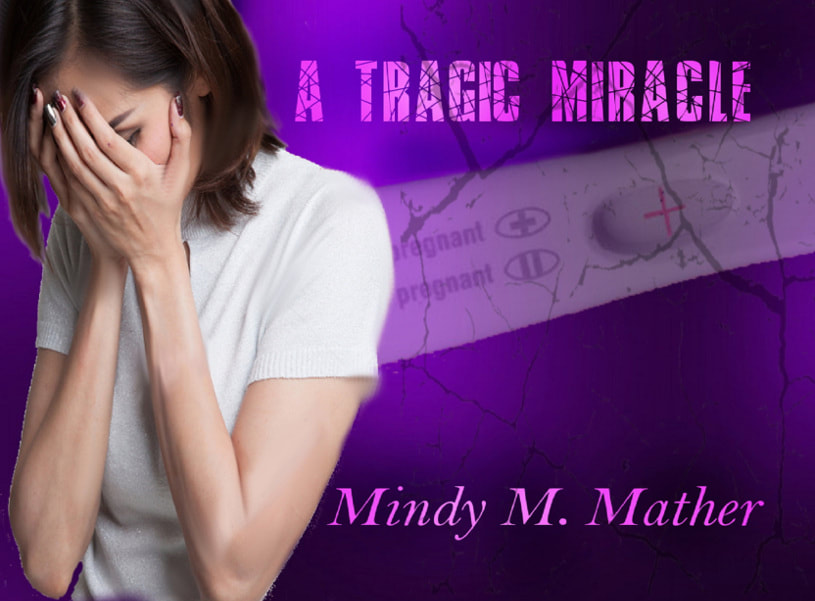 Book Cover for young adult romance A Tragic Miracle by Mindy Mather.