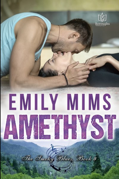 Book Cover for contemporary romance Amethyst by Emily Mims.