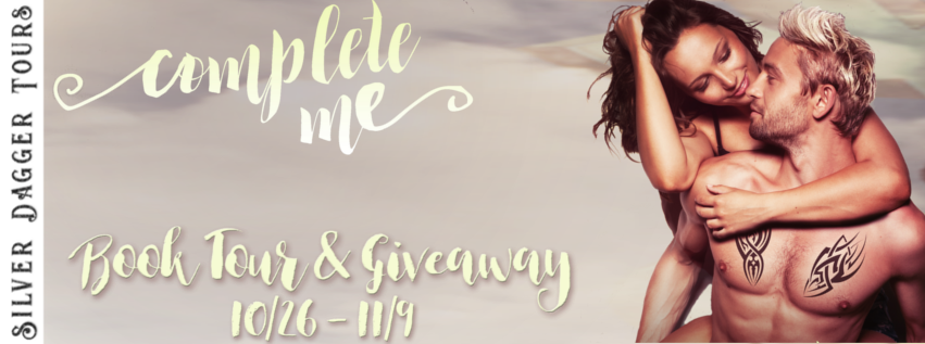 Book Tour Banner for contemporary romance novel Complete Me by Khardine Gray with a Book Tour Giveaway