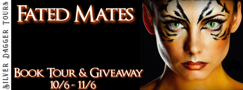 Book Tour Banner for paranormal romance series Fated Mates by Lilli Carlisle with a Book Tour Giveaway