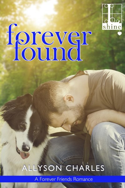 Book Cover for contemporary romance Forever Found from The Forever Friends Series by Allyson Charles.