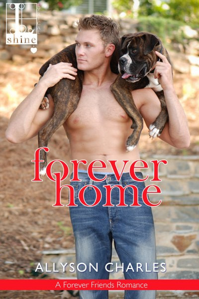 Book Cover for contemporary romance Forever Home from The Forever Friends Series by Allyson Charles.