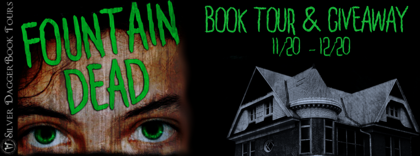 Book Tour Banner for young adult horror novel Fountain Dead by Theresa Braun with a Book Tour Giveaway