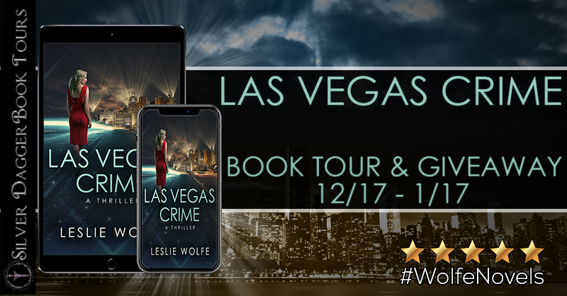 Las Vegas Crime Book Tour + Giveaway