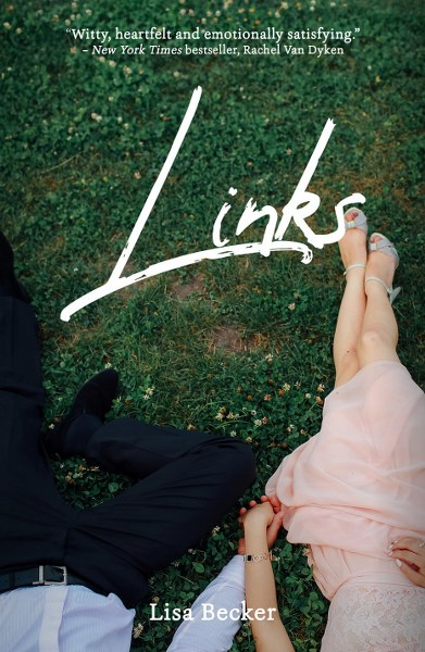 Book Cover for contemporary romance Links by Lisa Becker.