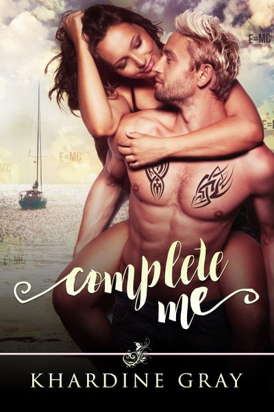 Book Cover for contemporary romance novel Complete Me by Khardine Gray.
