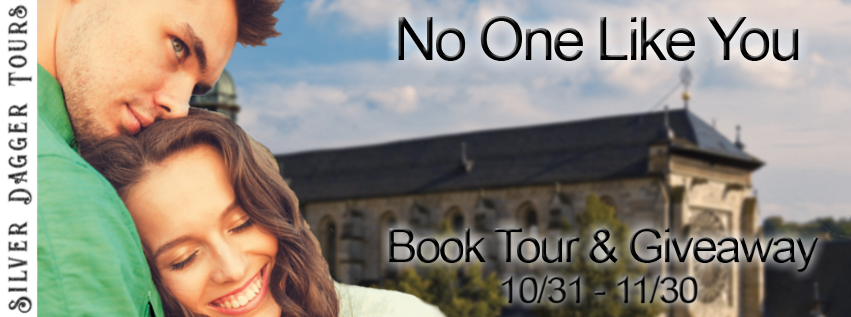 Book Tour Banner for contemporary romance No One Like You from the Chateau Jolie Romance series by Heather McGovern with a Book Tour Giveaway
