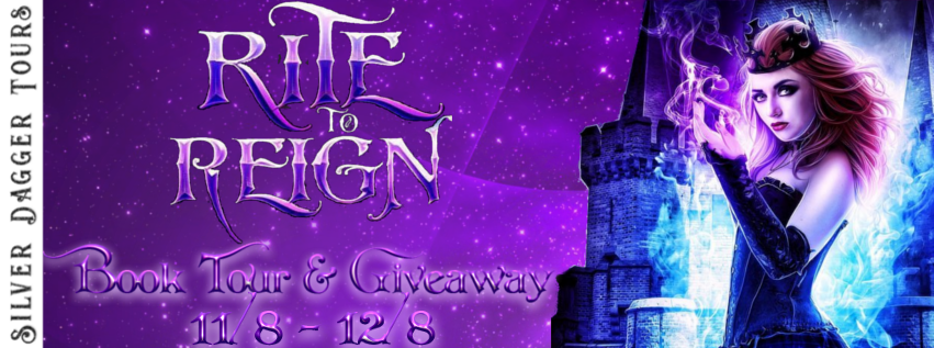 Book Tour Banner for young adult urban fantasy paranormal romance box set Rite to Reign with a Book Tour Giveaway