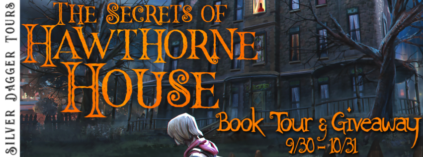 Book Tour Banner for teen mystery The Secrets of Hawthorne Houser by Donald Firesmith with a Book Tour Giveaway