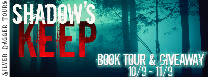 Book Tour Banner for Crime Thriller Shadow's Keep by Meghan O'Flynn with a Book Tour Giveaway
