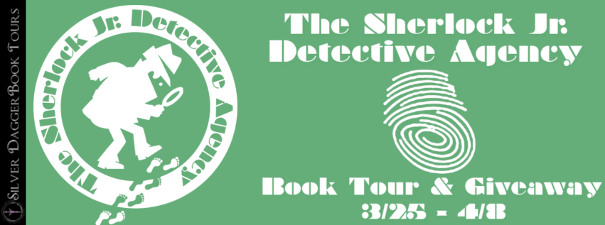 The Sherlock Jr. Detective Agency Book Tour: Giveaway for a T-Shirt, Hat and a Character Named After You in the Next Book!