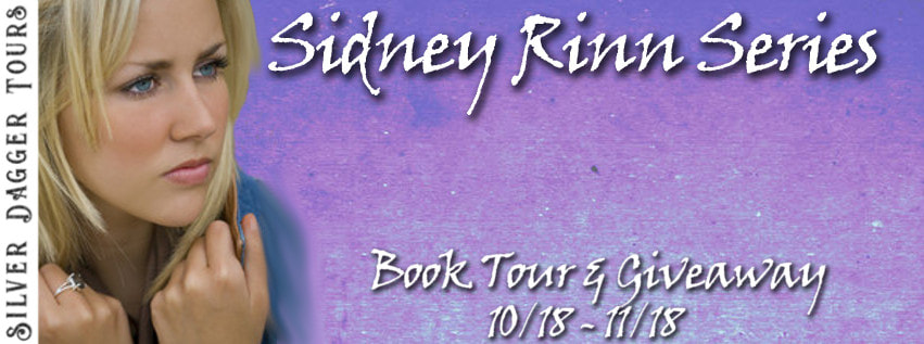 Book Tour Banner for the Sidney Rinn paranormal romance series by Charlie Dayewith a Book Tour Giveaway