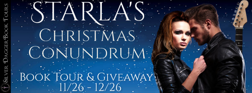 Book Tour Banner for contemporary romance novel Starla's Christmas Conundrum by Carol E. Keen with a Book Tour Giveaway