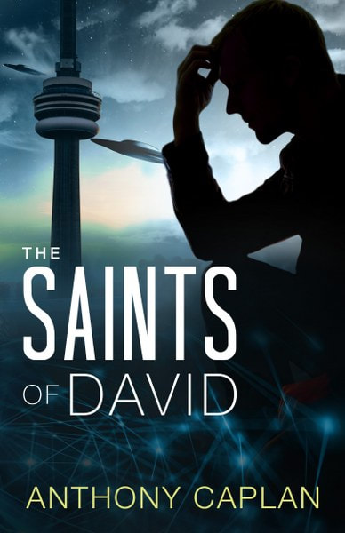 Book Cover for science fiction novel The Saints of David from The Jonah Trilogy by Anthony Caplan.